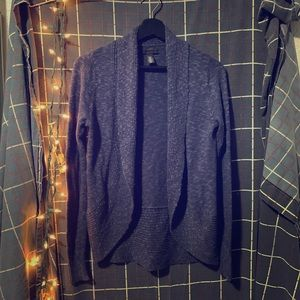 Kenneth Cole Navy Open Cardigan